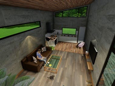Interior 3d Visualization