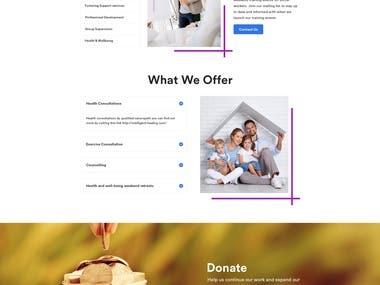 Landing page + PSD 2 HTML
