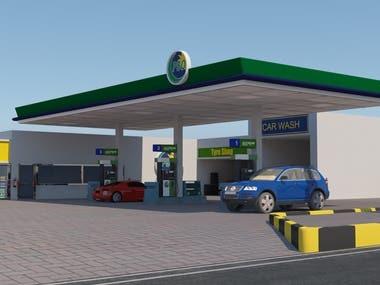 Fuel Station / Petrol Pump