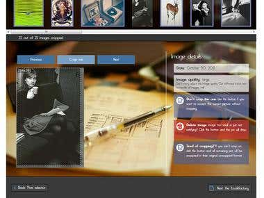 Image editor (Step 3 in Photobook editor)