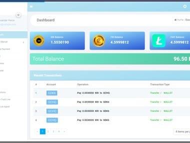 Custom Blockchain Mobile App & Software