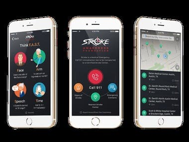 Stroke Awareness Foundation (iOS + Android)