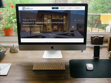 WIX website for Dover Associates