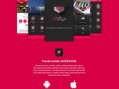 TRAVEL GUIDE - FOOD & DRINK APP