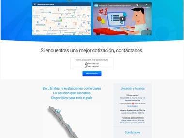 Diseño/desarrollo de página web para MICUPOCL