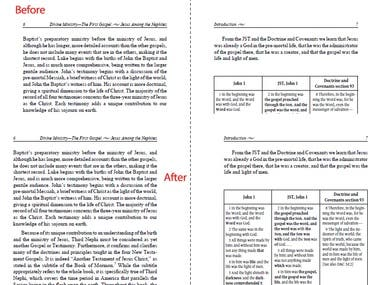 PDF editing without reformatting add spin area