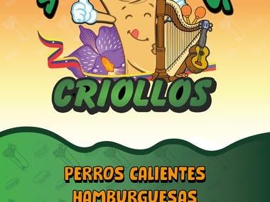 Shawarmas Criollos Banner