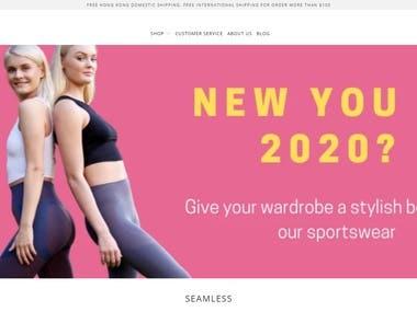 shopify(https://hk.fammesportswear.com/)