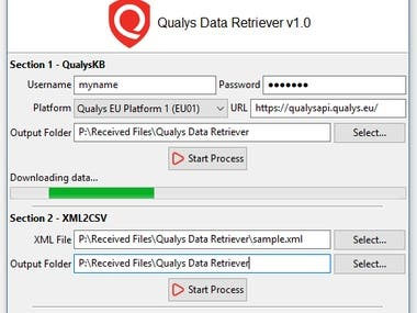 Qualys Data Retriever