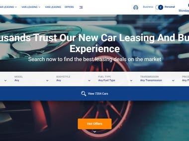 Laravel - Offer renting and sending cars.