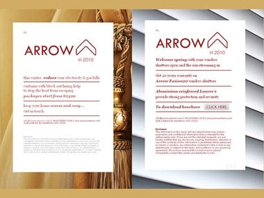 Arrowcurtains - Email Marketing Template