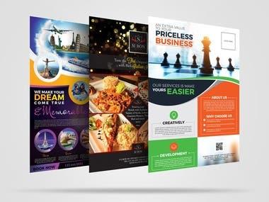 Banner/poster/flayr/Broucher/protofolio design/add /cataloge