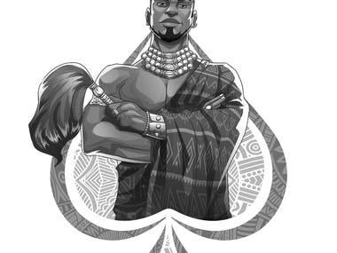 King Spade