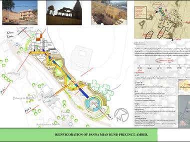 Reinvigoration of Panna Mian Kund precincts