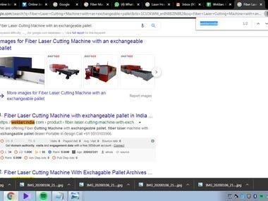 "SEO Keyword ""Fiber Laser Cutting Machine with an exchangeab"""