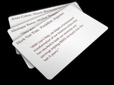 Testimonial Card