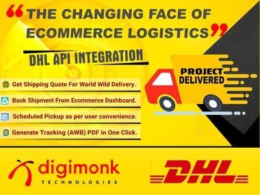 DHL Shipping API Integration Italy
