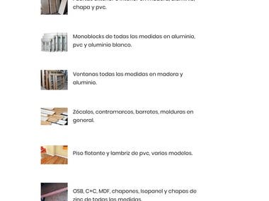 HTML5 WebSite | Barraca Alto Sur