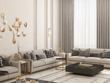 Men Majles II Design & Rendering