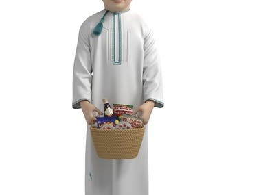 Arabian child