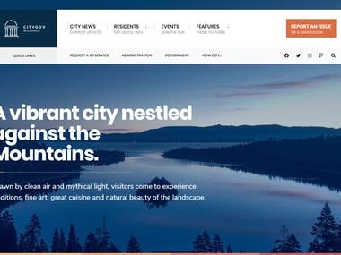 CityGov Website