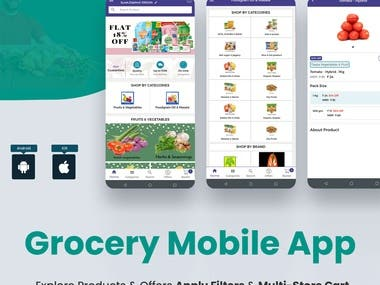 Grocery Delivery Application