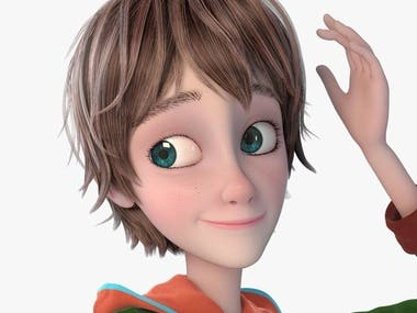 3D Cartoon Character