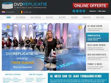 Online DVD & Music