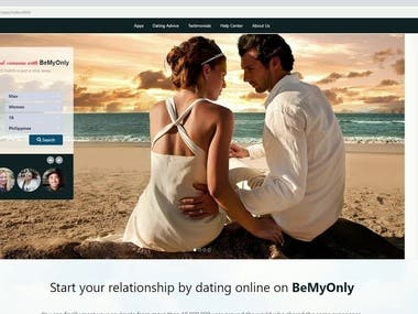 Angular Dating Site