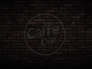 Logo animation for bar