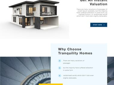 Website Design for Property Company