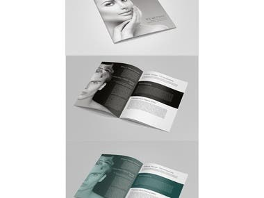 Skin Treatment Brochure Design