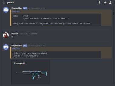 Discord Bot Integrated with Games