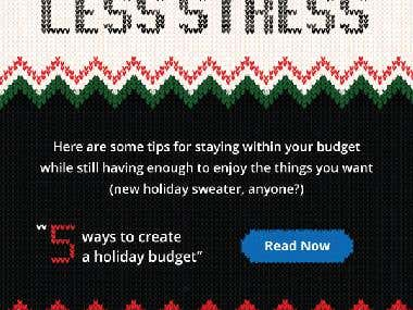 Happy Holiday Creative Email