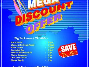Faber-Castell Mega Discount Offer_Flyer