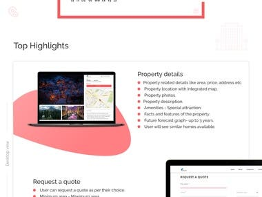 A Real-estate Property Search App