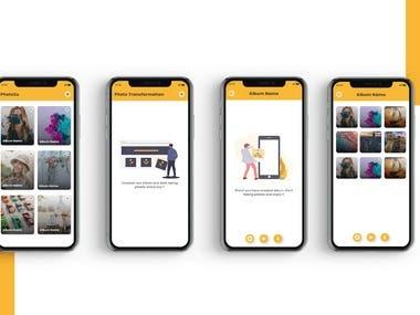 Photo Transformation App