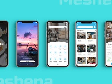 Meshena Travel App