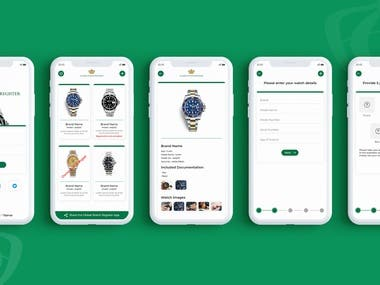 Ecommerce Watch Selling App