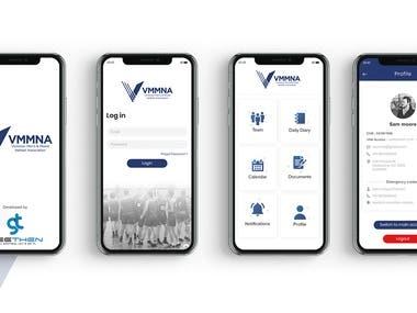 VMMNA Sports Club Mobile App