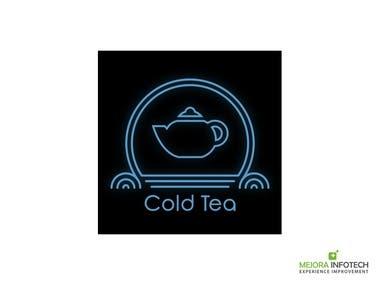 Logo design for a beverage