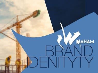 Maham Engineering Consultancy - Logo & Brand Identity Design