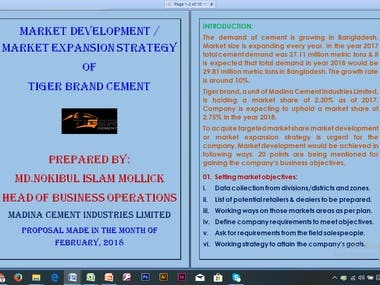 Market Development/Expansion