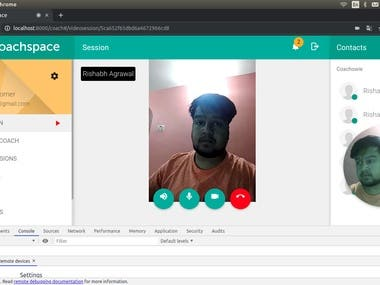 Doctor's Platform(with video call)