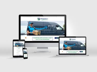 Website for Precision Logistics Inc