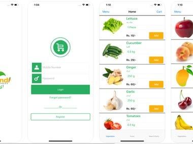eSM-eSabziMandi ios app