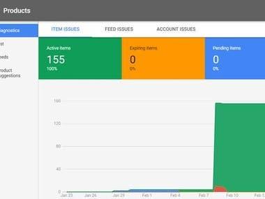 Google Merchant Center Feeds Approved