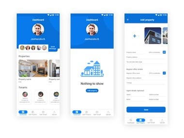 Property App Design