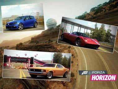 Forza Horizon  Microsoft / Turn 10    ( XBox360 )