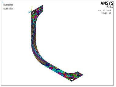 Finite Element Analysis of Bracket